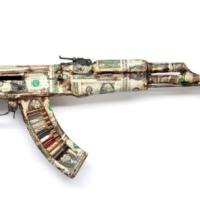 AKA Peace :: Artists Transform AK 47 Killing Machines Into Art.