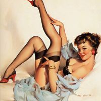 The Great American Pin Up Artist: Gil Elvgren. (Art/Illustration)