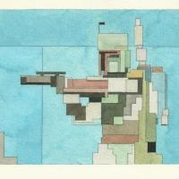 Adam Lister :: Pop Art Pixelation via Watercolour.