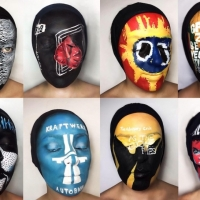 Natalie Sharp is a Makeup Artist That Face Paints Awesome Album Covers.