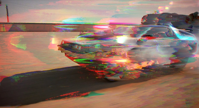 delorean_drift1